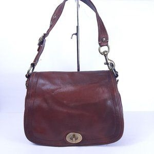 Coach 11134 Legacy 65th Anniversary Purse Brown Le